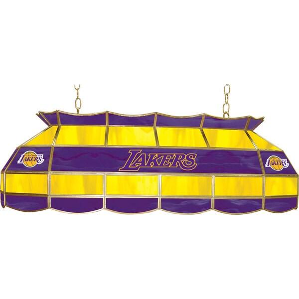 Los Angeles Lakers NBA 40 inch Tiffany Style Lamp