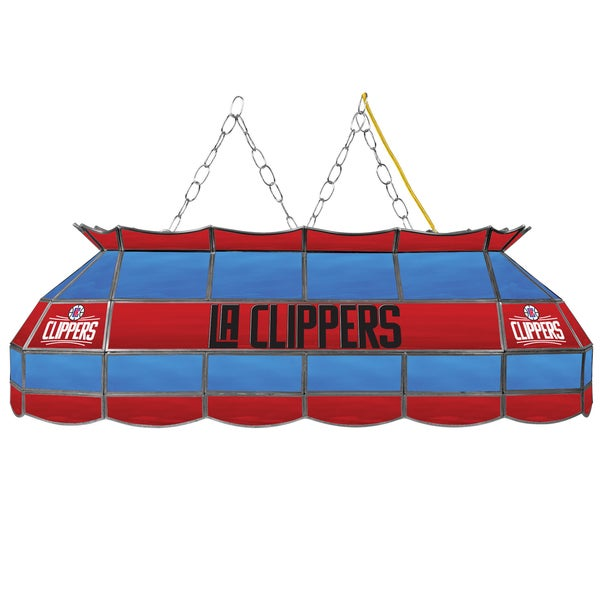 Los Angeles Clippers NBA 40 inch Tiffany Style Lamp