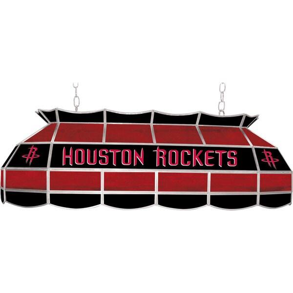 Houston Rockets NBA 40 inch Tiffany Style Lamp