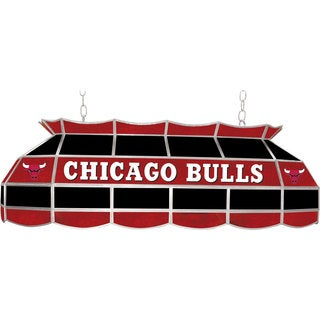 Chicago Bulls NBA 40 inch Tiffany Style Lamp