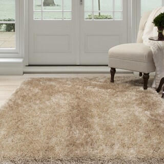 "Windsor Home Shag Area Rug - Natural - 5'3""x7'7"""