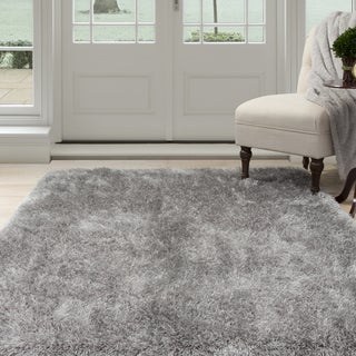 Windsor Home Shag Area Rug - Grey - 5'3 x7'7