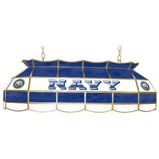 U.S. Navy Stained Glass 40 Inch Lighting Fixture