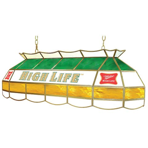 Miller High Life Stained Glass 40 Inch Lighting Fixture