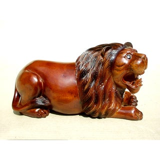 Handmade D-Art Lion Statue (Indonesia)