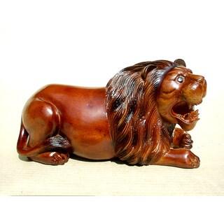 Handmade D-Art Lion Statue (Indonesia)
