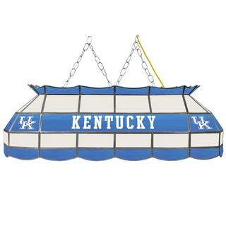 University of Kentucky Handmade Tiffany Style Lamp - 40 Inch - White