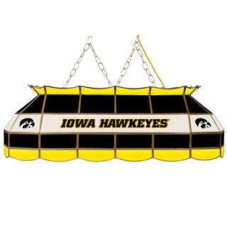 University of Iowa 40 Inch Stained Glass Tiffany Light