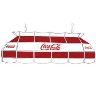 Coca Cola Red & White Vintage 40 Inch Tiffany Lamp