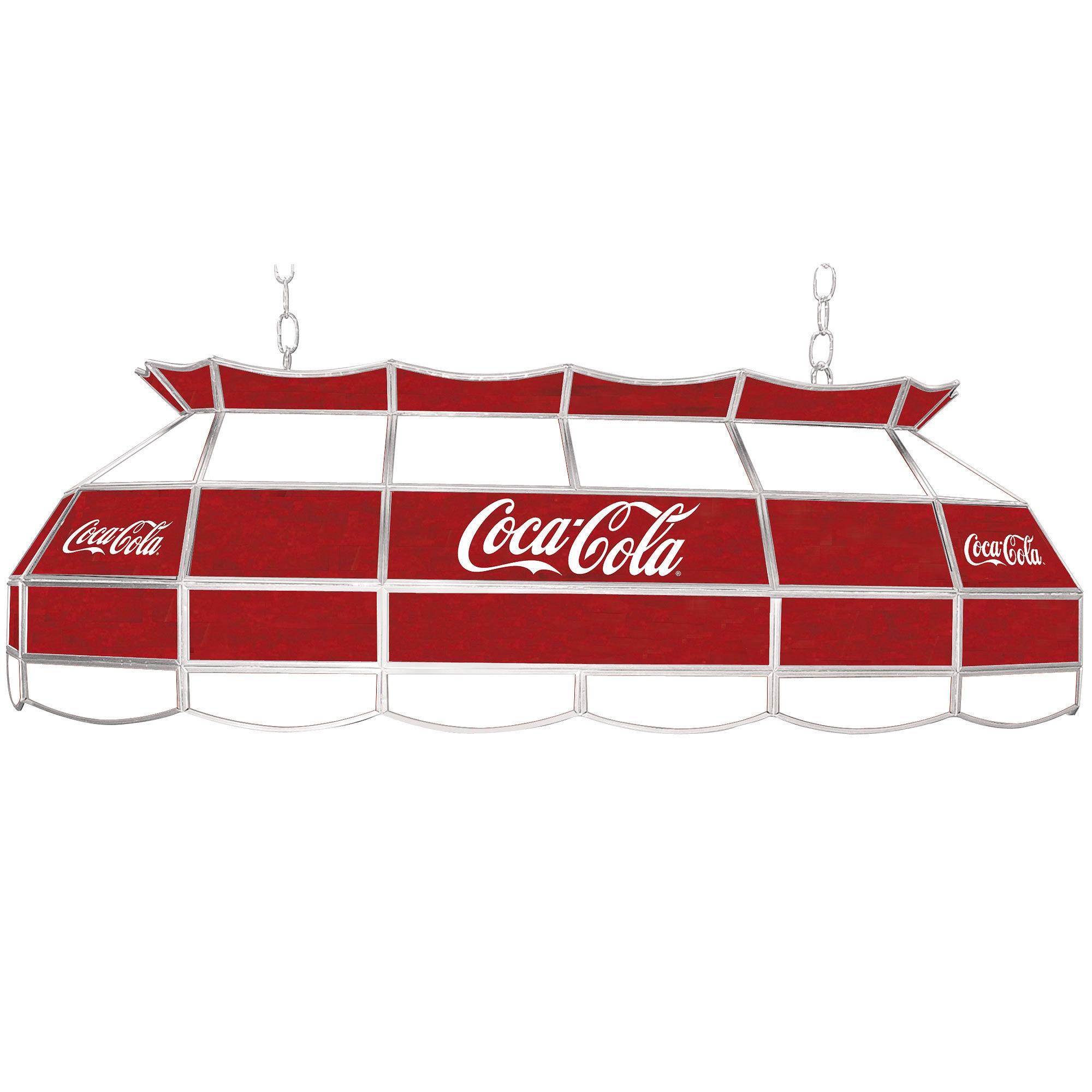 Trademark Gameroom Coca Cola Script v2 Vintage 40 Inch Ti...