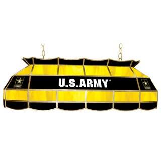 U.S. Army 40 inch Tiffany Style Lamp