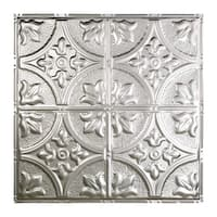 Great Lakes Tin Jamestown Unfinished 2-foot x 2-foot Nail-up Ceiling Tile (Carton of 5)