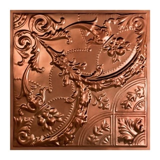 Great Lakes Tin Saginaw Vintage Bronze 2-foot x 2-foot Lay-in Ceiling Tile (Carton of 5)