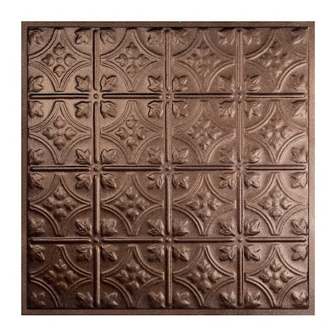 Great Lakes Tin Hamilton Penny Vein 2-foot x 2-foot Lay-in Ceiling Tile (Carton of 5)