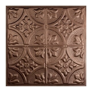 Great Lakes Tin Jamestown Penny Vein 2-foot x 2-foot Lay-in Ceiling Tile (Carton of 5) (2 options available)
