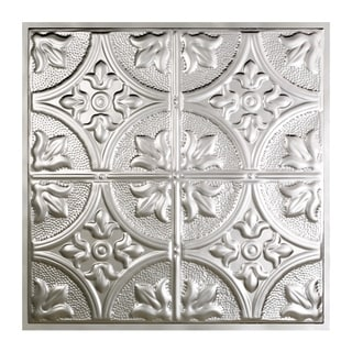 Great Lakes Tin Jamestown Unfinished 2-foot x 2-foot Lay-in Ceiling Tile (Carton of 5)