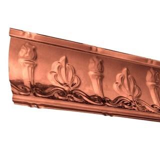 Great Lakes Tin Superior Vintage Bronze 27-inch Crown Molding (Carton of 10)