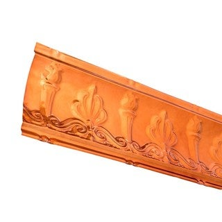 Great Lakes Tin Superior Copper 48-inch Crown Molding (Carton of 5)