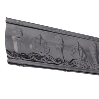 Great Lakes Tin Superior Argento 27-inch Crown Molding (Carton of 10)
