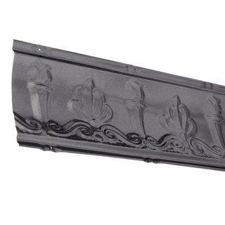 Great Lakes Tin Superior Argento 48-inch Crown Molding (Carton of 5)