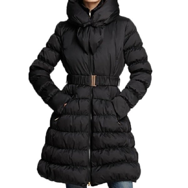 1770a8427797 Shop Laundry by Shelli Segal Pillow Collar Puffer Down Coat - Free Shipping  Today - Overstock - 10664573