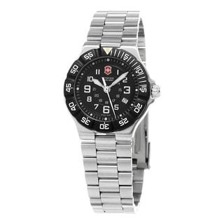 Swiss Army Women's 241348 'Summit XLT' Black Dial Stainless Steel Swiss Quartz Watch