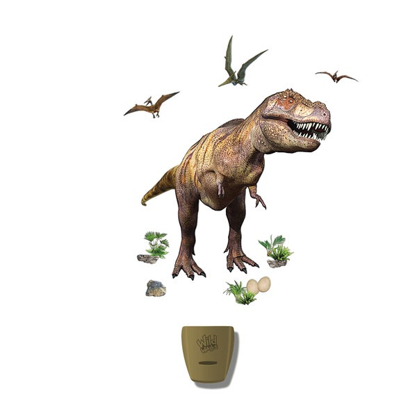 Uncle Milton Wild Walls Dinosaur Expedition