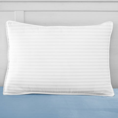 SwissLux 500 Thread Count European-Style Dual Comfort Memory Foam and Gel-Fiber Pillow