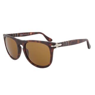Persol PO3055S 899/33 Sunglasses Suprema in Havana Frame and Brown Lenses