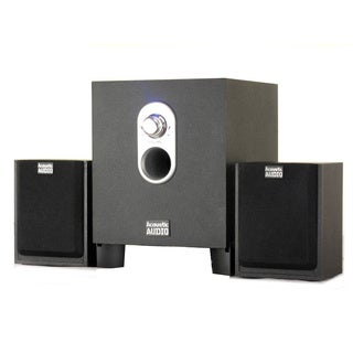 Acoustic Audio AA2101 250-watt 2.1-channel Home Theater Computer Speaker System