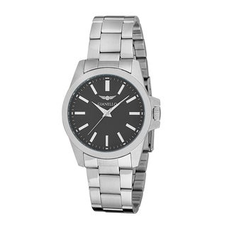 Gianello Men's Stainless Bracelet Color Dial Watch