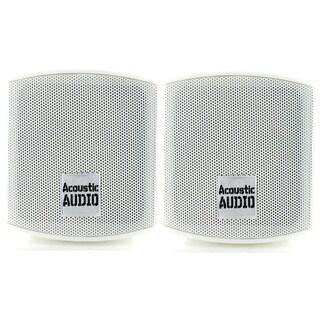 Acoustic Audio AA321W 400-watt Mountable Indoor Bookshelf Speakers