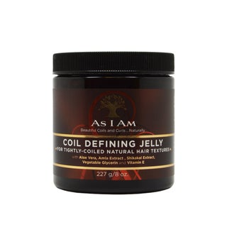 As I Am 8-ounce Coil Defining Jelly for Defining Tightly-coiled Natural Hair Textures