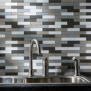 Grey Tile Overstock Com Shopping Floor Backsplash