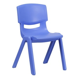 "Plastic Stackable School Chair with 15.5"" Seat Height"