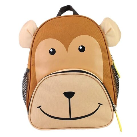 BJX Kids Nolan the Monkey Backpack