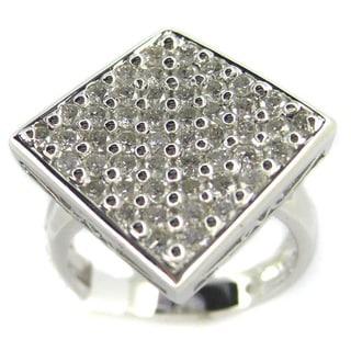 Kabella Luxe 18k White Gold 1 2/5ct TDW Diamond Ring (G-H, SI1-SI2)