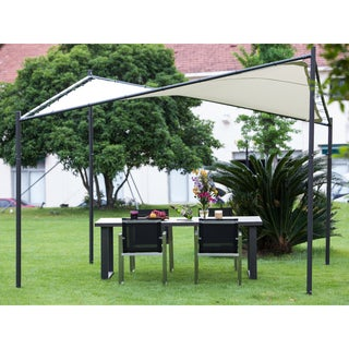 Abba Patio Steel/ Polyester Square Butterfly Gazebo