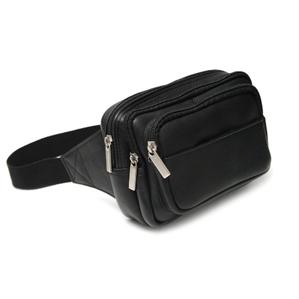 c24a4ceff6d1 Royce Leather Multi Compartment Fanny Pack in Colombian Genuine Leather