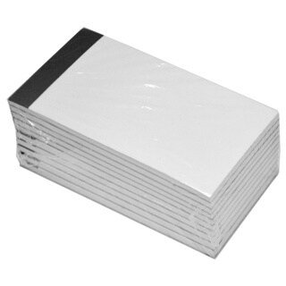 Royce Leather White Refill Note Pads for Royce Leather Note Jotters (10-pack)