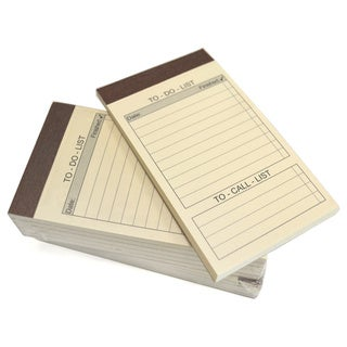 """Royce Leather """" To Do List """" Refill Note Pads for Royce Leather Note Jotters (10-pack)"""