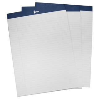Royce Leather Executive Lined Refill Writing Pads for Royce Leather Portfolios (4-pack)