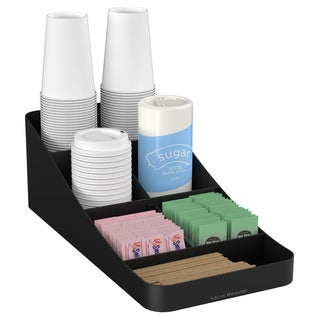 Mind Reader Trove 7-compartment Coffee Condiment Organizer