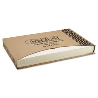 Bagcraft Papercon Grease-Proof Natural Quilon Pan Liners (Pack of 1000)