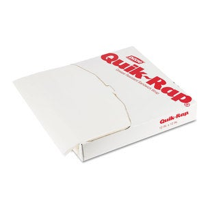 Dixie Quik-Rap Grease-Resistant Waxed Sandwich Paper (3 Packs of 1000 Sheets)
