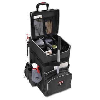 Rubbermaid Commercial Dark Gray Large Executive Quick Cart|https://ak1.ostkcdn.com/images/products/10665163/P17730485.jpg?impolicy=medium