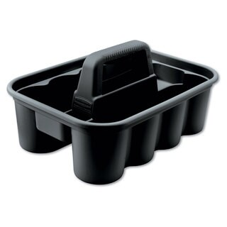 Rubbermaid Commercial Black Deluxe Carry Caddy