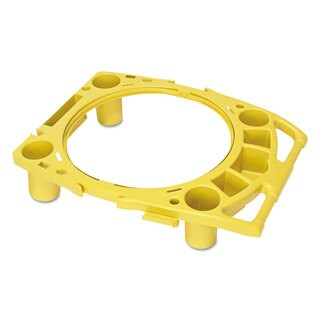 Rubbermaid Commercial Yellow Standard Rim Caddy