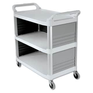 Rubbermaid Commercial Off-White Three-Shelf Xtra Utility Cart https://ak1.ostkcdn.com/images/products/10665203/P17730515.jpg?impolicy=medium