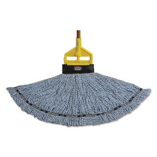 Rubbermaid Commercial Maximizer Blended Large Blue Mop Heads